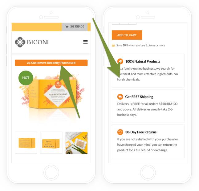 biconi-product-page
